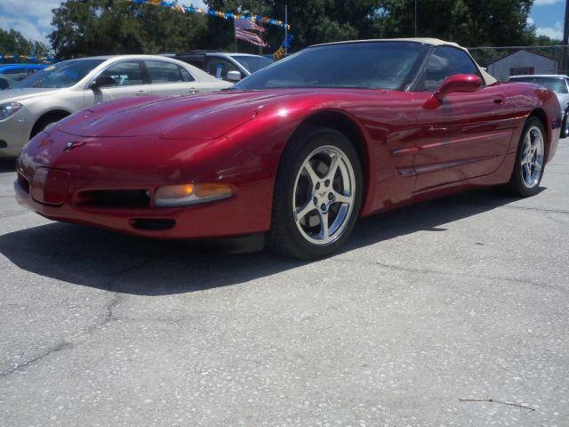 2000 Chevrolet Corvette Convertible -- EXTREMELY LOW MILES