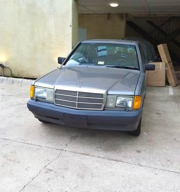 1987 mercedes benz 190d diesel for sale in dallas texas for Mercedes benz for sale in dallas tx