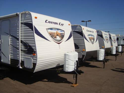 2013 Canyon Cat - Light Weight 1/2 ton towables - $149 mo.