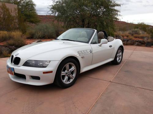 2000 bmw z3 2 3 roadster convertible for sale in diamond. Black Bedroom Furniture Sets. Home Design Ideas