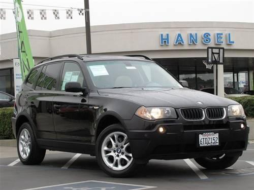 2004 bmw x3 suv awd suv for sale in santa rosa. Black Bedroom Furniture Sets. Home Design Ideas
