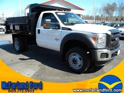 2014 FORD F-550 CHASSIS CAB 2 DOOR CHASSIS TRUCK