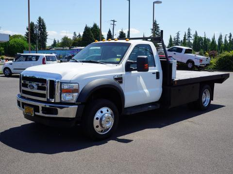 2008 Ford F-550 Chassis Cab 2 Door Chassis Truck