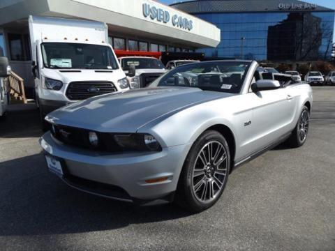 2011 FORD MUSTANG 2 DOOR CONVERTIBLE