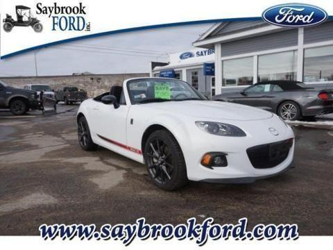 2013 MAZDA MIATA 2 DOOR CONVERTIBLE