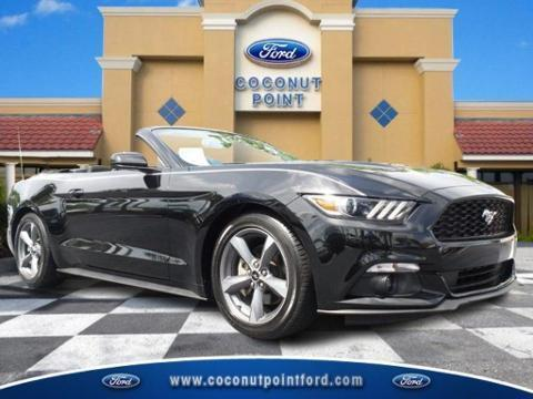 2015 Ford Mustang 2 Door Convertible