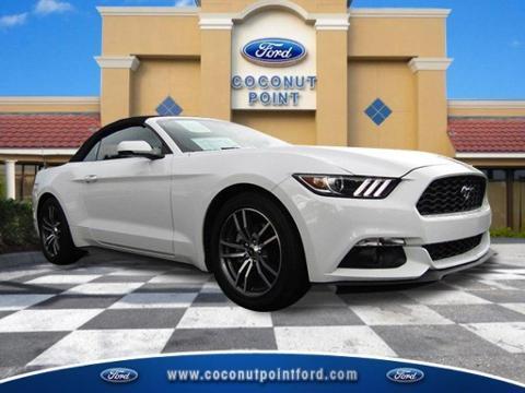 2016 Ford Mustang 2 Door Convertible