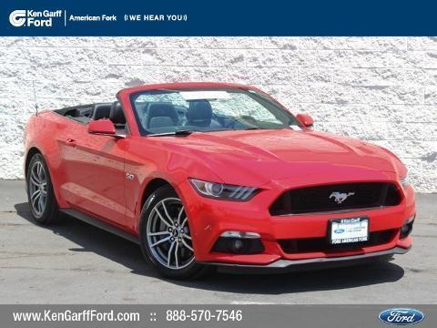 2015 Ford Mustang 2 Door Convertible