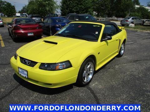 2003 Ford Mustang 2 Door Convertible
