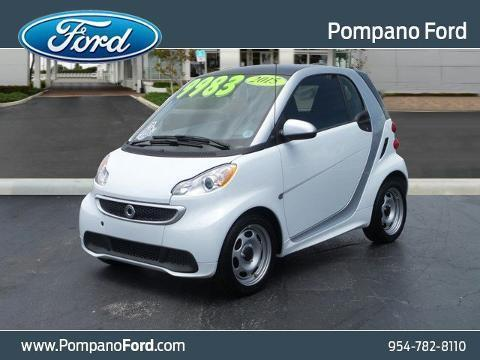 2015 smart fortwo 2 Door Coupe