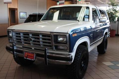 1986 Ford Bronco 2 Door SUV