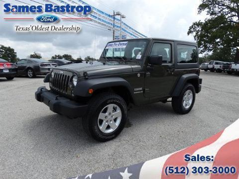 2015 Jeep Wrangler 2 Door SUV