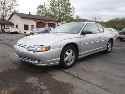 2002 CHEVROLET Monte Carlo Coupe 2 Dr SS Coupe