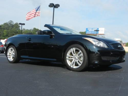 2010 infiniti g37 convertible 2dr car base sport anniversary edition for sale in beech island. Black Bedroom Furniture Sets. Home Design Ideas