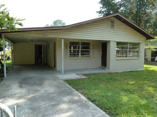 3 Car Garage Block : Cement block home and car garage on acreage for sale in