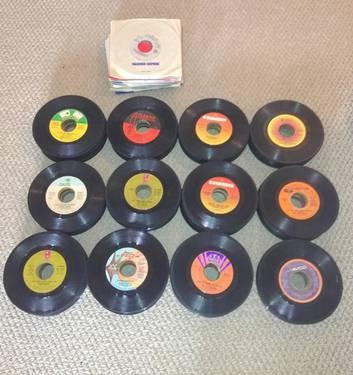 Vinyl Record Collection - 339 ea. rpm records