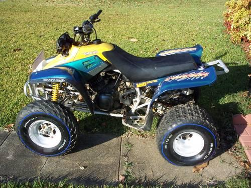 1996 warrior 350 atv for sale in ballardsville for Yamaha warrior for sale