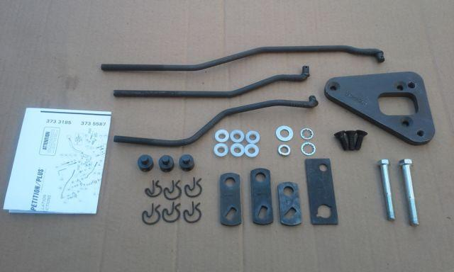 Hurst shifter installation kit # 3735587 for Cobra Jet toploader