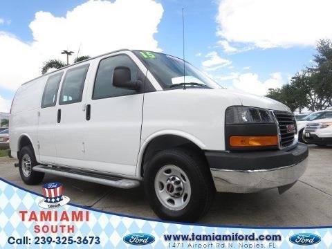 2015 GMC Savana G2500 3 Door Cargo Van
