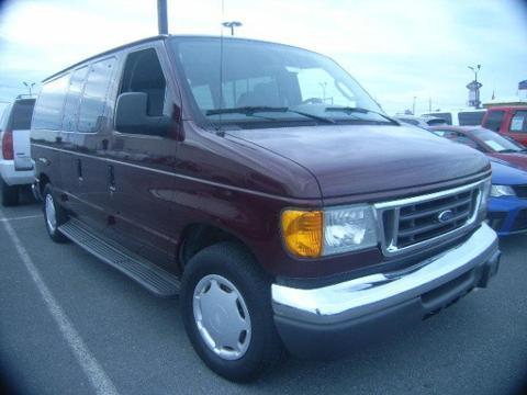 2006 Ford Econoline 150 3 Door Van