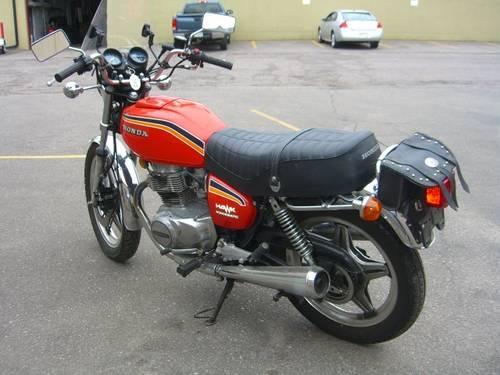1978 Honda Hawk 400 Hondamatic