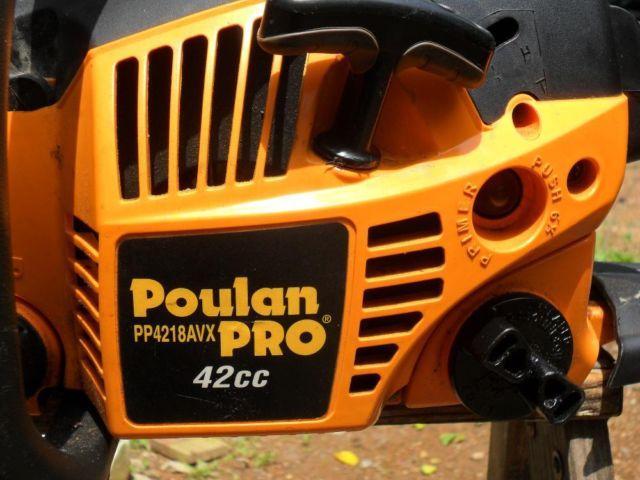 Poulan Pro 42cc chainsaw