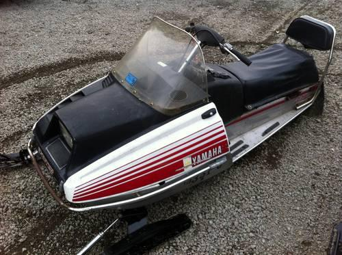 1978 yamaha exciter 440 snowmobile for sale in ari for Yamaha 440 snowmobile engine