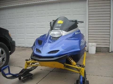 1996 Skidoo MXZ 440 snowmobile sled