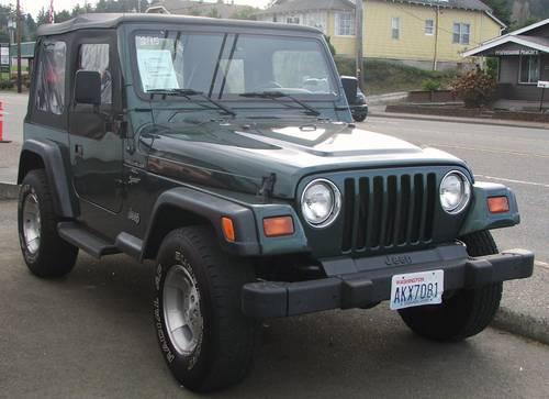 Jeep Wrangler, soft top, 4.0 Liter Sport