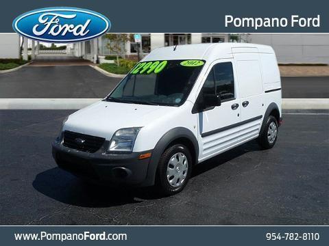 2012 Ford Transit Connect 4 Door Cargo Van