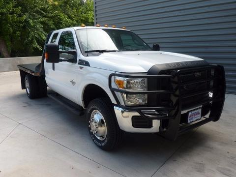 2013 Ford F-350 Chassis Cab 4 Door Chassis Truck