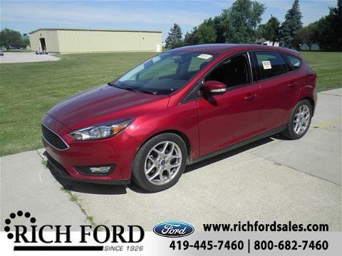 2015 Ford Focus 4 Door Hatchback