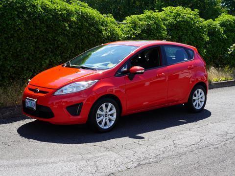 2013 Ford Fiesta 4 Door Hatchback