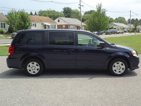 2012 Dodge Grand Caravan 4 Door Passenger Van