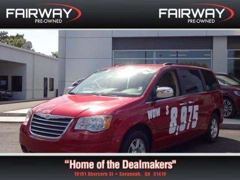 2008 Chrysler Town & Country 4 Door Passenger Van