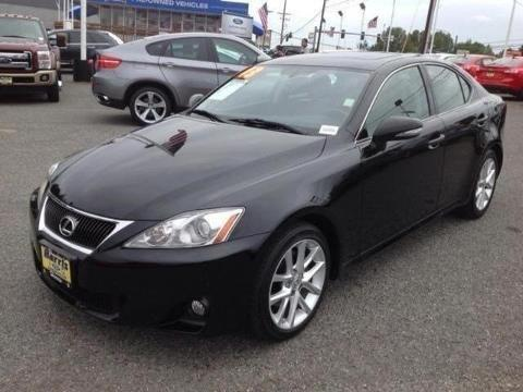 2013 LEXUS IS 250 4 DOOR SEDAN