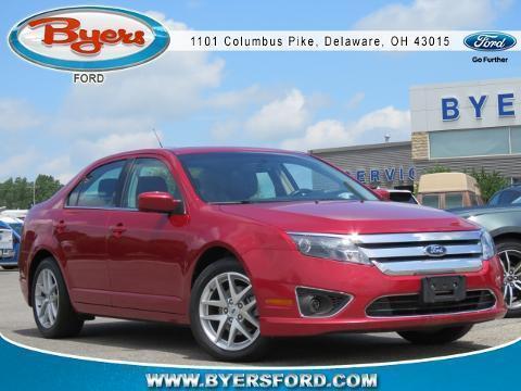 2012 Ford Fusion 4 Door Sedan