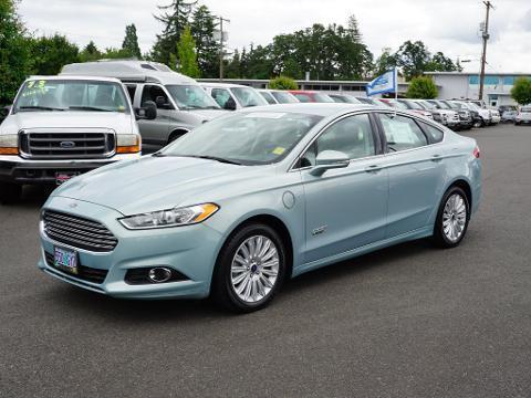 2014 Ford Fusion Energi 4 Door Sedan