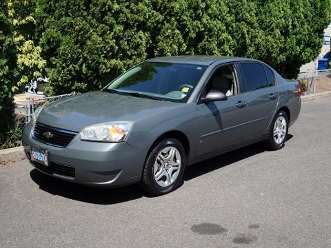 2008 Chevrolet Malibu Classic 4 Door Sedan