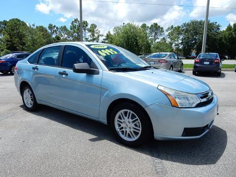2009 Ford Focus 4 Door Sedan