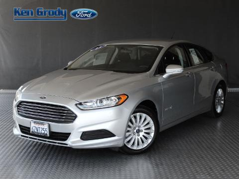 2013 Ford Fusion Hybrid 4 Door Sedan