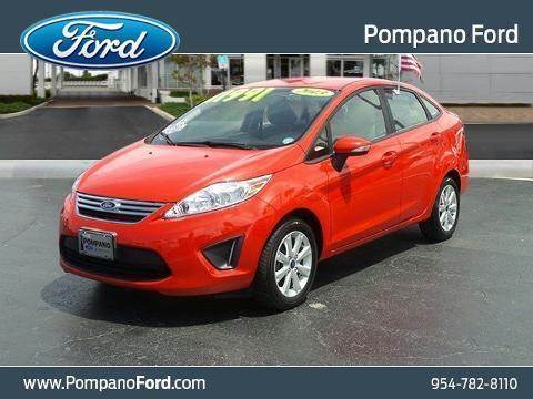2013 Ford Fiesta 4 Door Sedan
