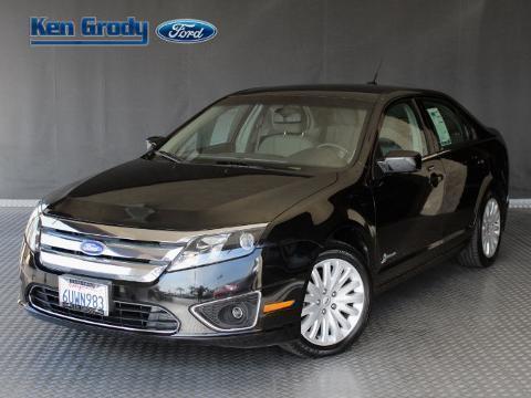 2012 Ford Fusion Hybrid 4 Door Sedan