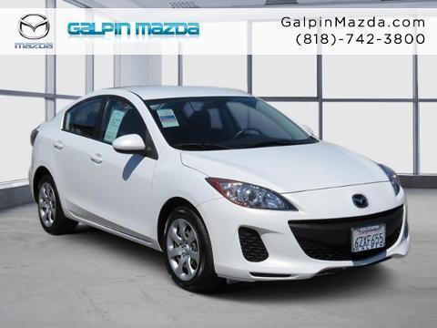 2013 Mazda MAZDA3 4 Door Sedan