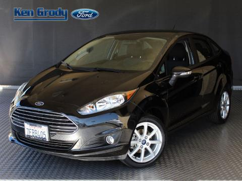 2014 Ford Fiesta 4 Door Sedan