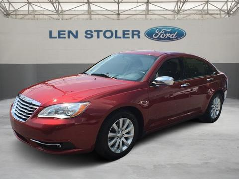 2013 Chrysler 200 4 Door Sedan