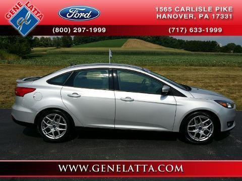 2015 Ford Focus 4 Door Sedan