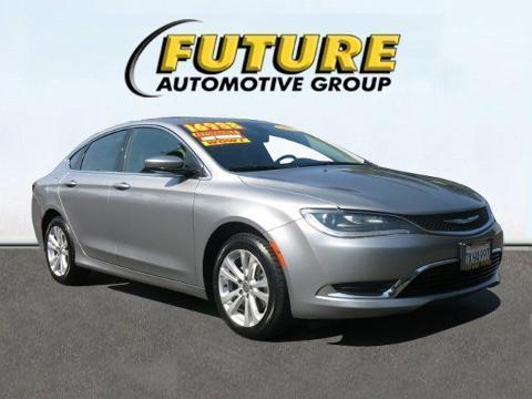 2015 Chrysler 200 4 Door Sedan