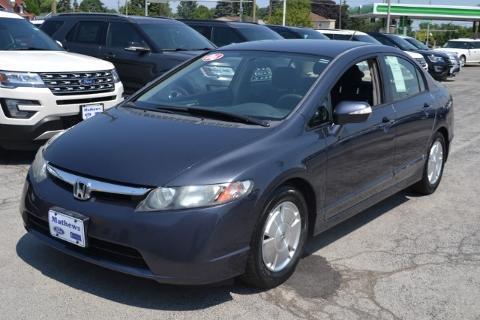 2006 Honda Civic Hybrid 4 Door Sedan