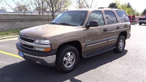 2003 CHEVROLET TAHOE 4 DOOR SUV